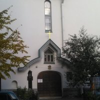 Вход в Православную церковь на ул. Роменской. (С-Петербург). :: Светлана Калмыкова
