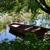 лодка :: надежда Коновалова