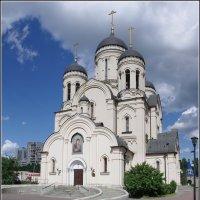 Церковь Иконы Божией Матери Утоли Моя Печали в Марьино. :: Николай Панов