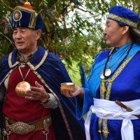 Обряд посвящения в шаманы :: Ольга Озонова