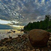 Закат перед белой ночью :: Николай