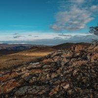 На холмах Тажеранской степи. Прибайкальский национальный парк. :: Rafael