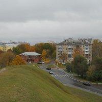 Вид на Проезд речников с высоты кремлёвского вала. :: Tarka