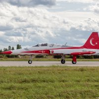 "NF-5A Captain Ali BALCI ""Turkish stars"" aerobatic team :: Павел Myth Буканов"