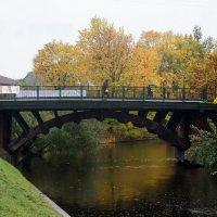 Мост через р. Монастырка. Лаврский 2-й :: Елена Павлова (Смолова)