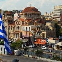 Под греческим флагом... :: Надя Кушнир