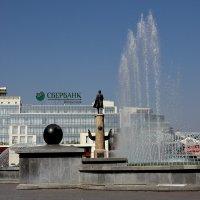 Фонтан на площади Петра Великого. Липецк :: MILAV V