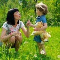 Мать и дочь :: Татьяна Жилкина