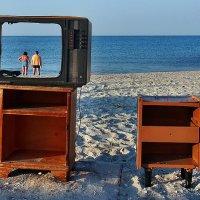The Box - пляж эмоций. Про Пятницу и  Робинзона... :: Александр Резуненко