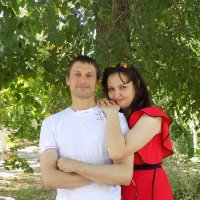 я с женой :: vladimir polovnikov