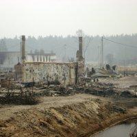 Природные пожарища Рязанщины в августе 2010 года :: Николай Варламов