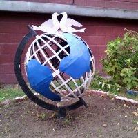 Мячик круглый как земля! :: Ольга Кривых