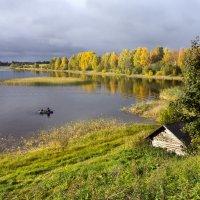 Осень на Бородаевском озере :: Татьяна Копосова