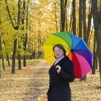 Женщина осень :: Юлия Фалей