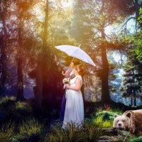 прогулка в лесу :: Надежда Орёл