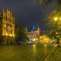 Торунь. Рыночная площадь. Вечер. :: Павел Дунюшкин