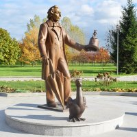 Памятник датскому писателю Гансу Христиану Андерсену. :: Татьяна Помогалова
