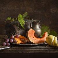 натюрморт с тыквой и лимоном :: Evgeny Kornienko