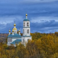Церковь Казанской иконы Божией Матери :: Сергей Цветков