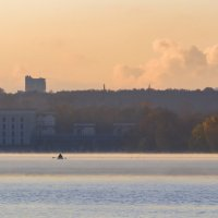 Осенний рассвет... :: Александр Лебедевъ