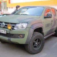 Пикап в стиле military :: Дмитрий Никитин