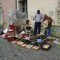 Книжный   базар   в   Львове :: Андрей  Васильевич Коляскин