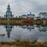 Храм в честь Казанской иконы Божьей Матери в пос.Тельма. :: Rafael