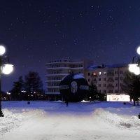 Омская  ночь :: Геннадий Супрун