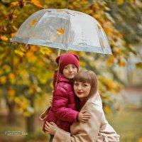 Наша дождливая сьемка :) Очаровательная Виктория и Иван :) :: Кристина Беляева