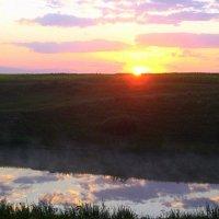 Рассвет над прудом. :: оля san-alondra