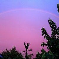 Радуга на закате :: svetlana.voskresenskaia