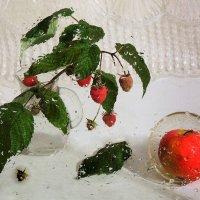 Во саду ли в огороде, у меня еще растет малина :: Павлова Татьяна Павлова