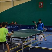 Соревнования по настольному теннису в рамках спартакиады «Московский двор-спортивный двор» :: Центр Юность