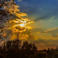 Солнышко за облаками :: jenia77 Миронюк Женя