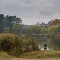 Осенняя рыбалка :: Евгений Щербина
