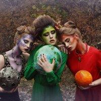 """арт -проект """"Вселенная"""" ( проект в стиле сюрреализма) :: Любовь Кастрыкина"""