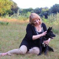 Дама с собачкой :: Нина Костина