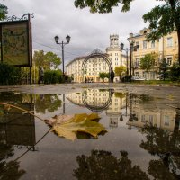 В городе осень. :: Олег Козлов