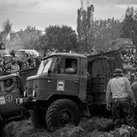застряли на русском бездорожье... :: Денис Сидельников