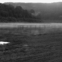 Туман на Оке. :: Александр Никитин
