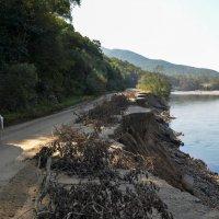 На подъезде к селу Чистоводное. Последствия наводнения. Осень 2016 год :: Дмитрий