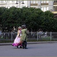 Прогулка у Казанского собора :: Вера