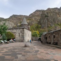 Пещерный монастырь Гегард :: Ирина Шарапова