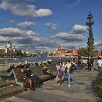 Набережная в парке Музеон. :: Александр Бабаев