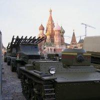 Военная техника прошлых лет :: Анна Воробьева