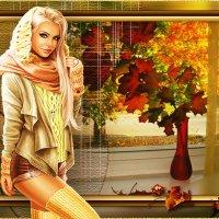 девушка-осень... :: Lyubov Zomova