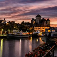 autumn evening in Annecy :: Dmitry Ozersky