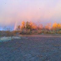 ...осенняя радуга... :: сергей Киселев