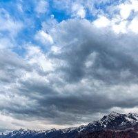 Облака над Красной Поляной :: Андрей Володин