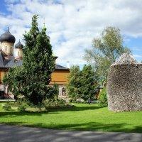 В Пюхтицком Успенском монастыре :: Елена Павлова (Смолова)